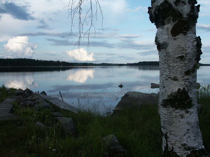 Vy över Bysjön